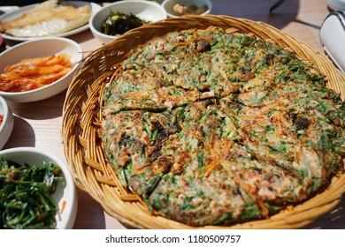 Pajeon, Welsh onion pancake