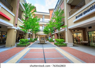 Paju Premium Outlets for tourists on May 10 2017 in Paju-si, South Korea