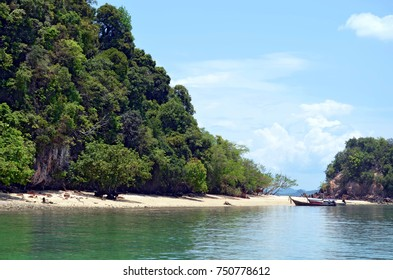 Pak Bia island - Koh Pak Bia is located near Koh Hong, in the Phang Nga Bay, in the Andaman Sea, Thailand