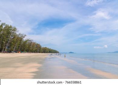 Pak Meng beach and Pling Island Meng Island, Trang, south part of Thailand