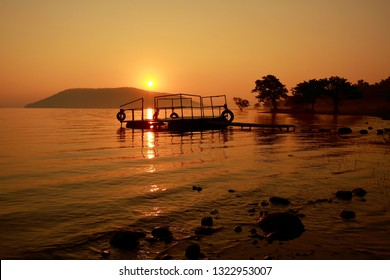 Pakhal Lake is a man-made lake in the Pakhal Wildlife Sanctuary in Warangal, India.The great Kakatiya king Ganapati Deva had constructed Pakhal lake in the deepest forest area for the future usage.