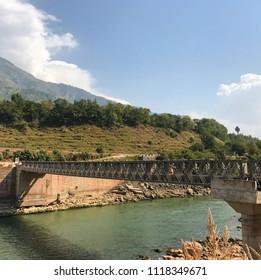 Pakistan bridges in Kashmir
