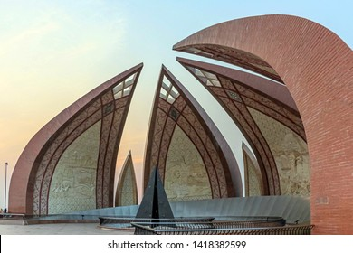 Pakistan Monument 05 May 2019 - The Pakistan Monument is a national monument and heritage museum located on the western Shakarparian Hills in Islamabad, Pakistan.