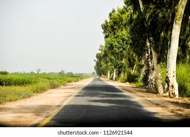Pakistan village road