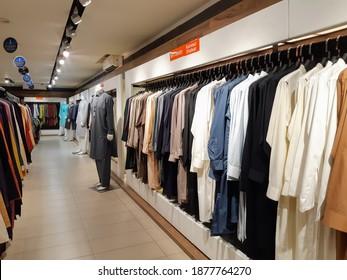 Pakistani Clothes in a boutique, Kurta pajama and Kameez Shalwar