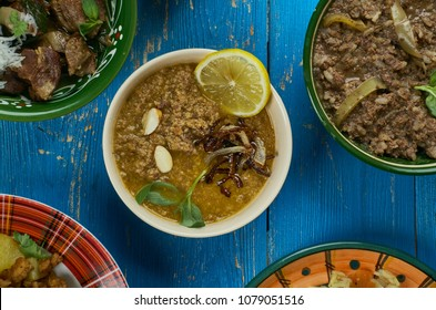 Pakistani cuisine ,Brown Haleem,  stew popular in the Middle East, Central Asia, and the Indian subcontinent