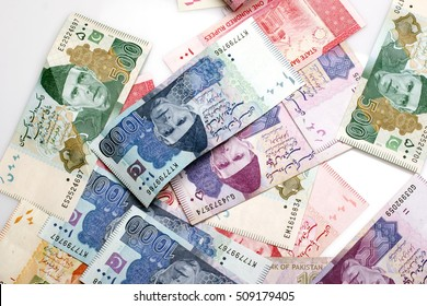 Pakistani Currency Banknote