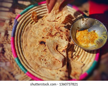Pakistani food ( Dall roti )