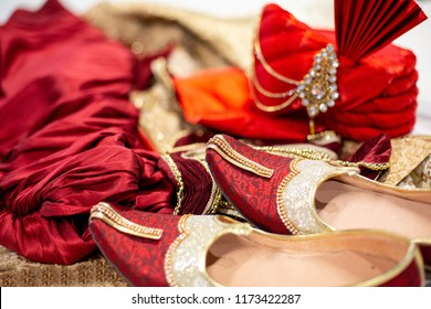 Pakistani groom's wedding ceremony traditional outfit