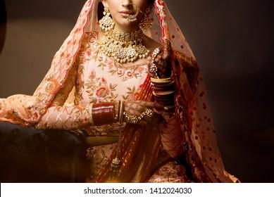 Indian Bridal Images Stock Photos Vectors Shutterstock
