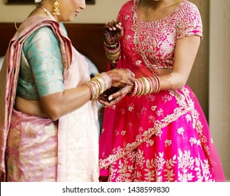 Indian Bride Mother Images Stock Photos Vectors Shutterstock