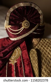 Pakistani wedding Sharwani and turban and other accessories