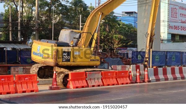 pakkret-nonthaburi-thailand-february-11-