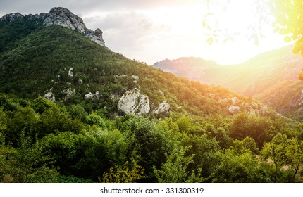 Paklenica karst river canyon is national park in Croatia. It is located in Starigrad, northern Dalmatia, at southern slopes of Velebit mountain, not far from Zadar. Mala and Velika Paklenica.