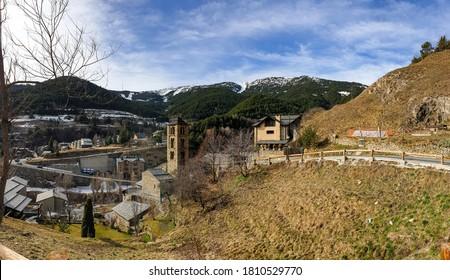 Pueblo Pal en los Pirineos de Andorra