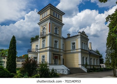 Palace in Augustow city, Podlasie, Poland