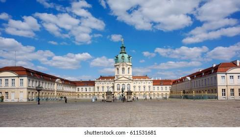 Palace in Berlin Schloss Charlottenburg