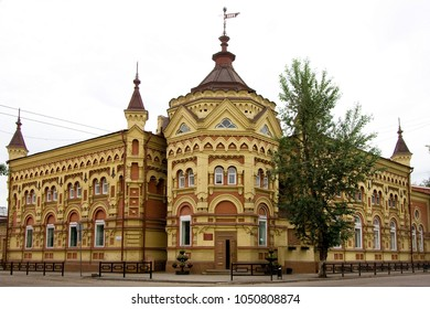 Palace of children creativity (built in 1897) Irkutsk, Russia. Before the revolution the mansion of the merchant A. Vtorov
