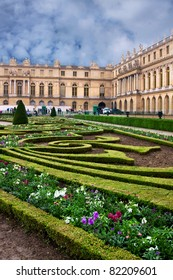 Palace de Versailles in France, near to Paris, a masterpiece of park architecture and landscape design