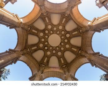 Palace of Fine Art, fisheye