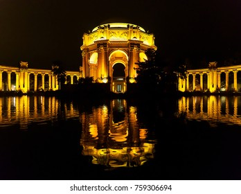 Palace of Fine Arts by Night