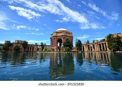 Palace of fine arts at San Francisco recreation and parks, USA