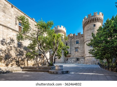 The Palace of the Grand Master of the Knights of Rhodes.