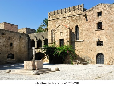 The Palace of the Grand Master. Rhodes. Greece