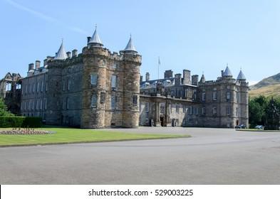 Palace of Holyroodhouse, Edinburgh, Scotland