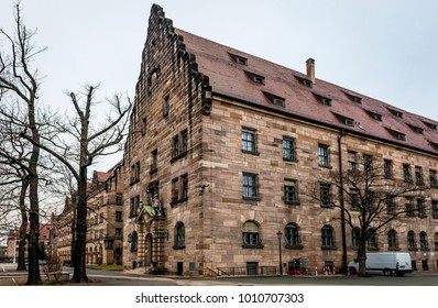 The Palace of Justice, in Nuremberg, Germany, location of the Nuremberg trials.