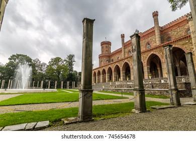 Palace in Kamieniec Zabkowicki, Poland