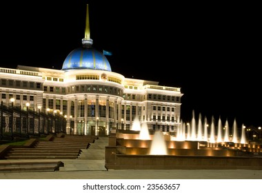 Palace of the Kazakhstan's president in Astana.
