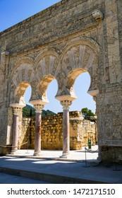 Palace of Medina Azahara, arab city founded in year 936 by Caliph AbdurRahmán III. World heritage by Unesco. Cordoba, Andalusia, Spain