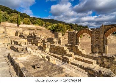 Palace of Medina Azahara near Cordoba in Andalusia, Spain