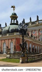 Palace Neues Palais in Castle and Park Sanssouci, Potsdam, the Capital City of Brandenburg