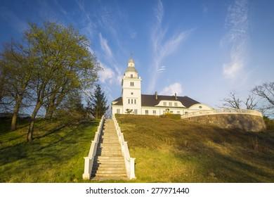 The palace on the hill, Poland, Koszewo