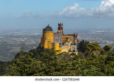 Palace of Pena , Sintra , Portugal