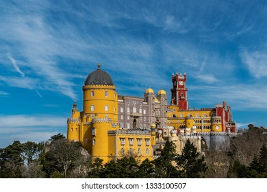 Palace of Pena, Sintra. Portugal.
