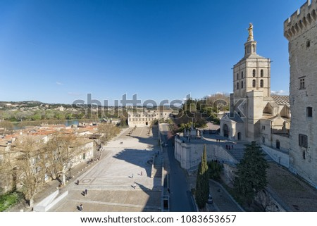 Palace of the Popes of Avignon - Camargue - Provence - France