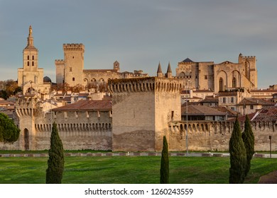 Palace of popes - Avignon - Vaucluse (France)