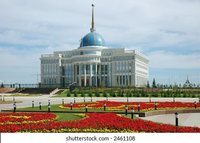 palace of president Astana Kazakhstan