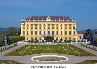 """palace schoenbrunn """"Kronprinzengarten"""" Vienna Austria"""