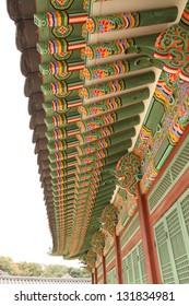 The palace in Seoul. South Korea