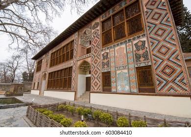 Palace of Sheki's Khan, Sheki town, Azerbaijan