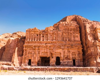 The Palace tomb in the capital of the Nabataean Kingdom, Petra, Jordan