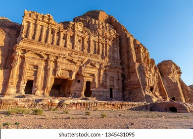 Palace Tomb. Petra, Jordan. Petra is the main attraction of Jordan. Petra is included in the UNESCO heritage list.