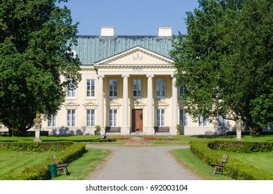Palace in Walewice, Poland. Photo taken at June 15, 2017