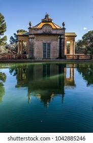 Palace water reflection