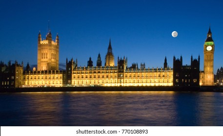 The Palace of Westminster is the meeting place of the House of Commons and the House of Lords, the two houses of the Parliament of the United Kingdom. Commonly known as the Houses of Parliament.