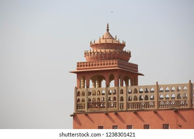 Palace of Winds or Hawa Mahal.